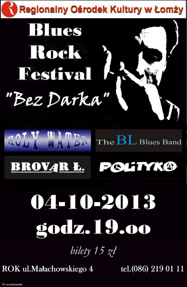 Blues Rock Festival - Bez Darka