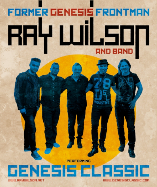 Ray Wilson and Band - Genesis classic - koncert